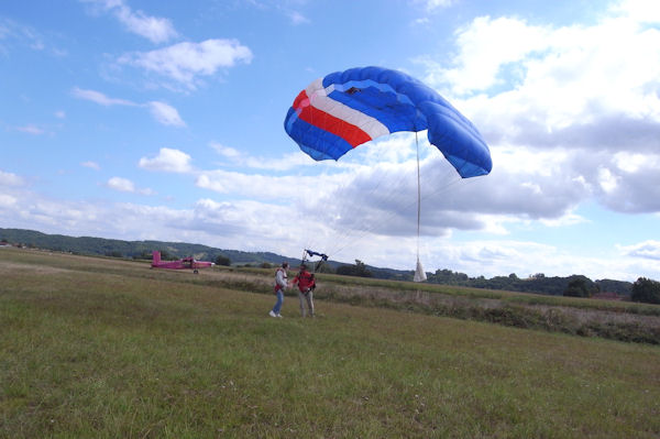 Fred à l_atterrissage