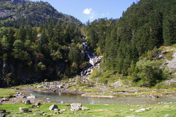 La cascade du Larribet à Doublas