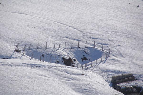 Un cœur dans la neige!