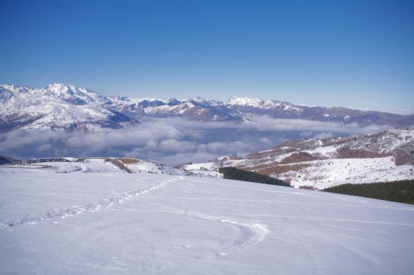 La vallée d_Argelès Gazost depuis la Soum de Tramassel