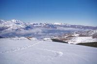 La vallee d'Argeles Gazost depuis la Soum de Tramassel