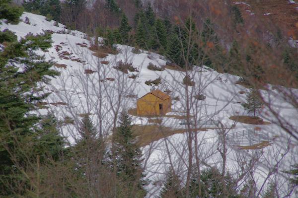 La cabane près de la fontaine de Marioulète