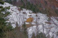 La cabane pres de la fontaine de Marioulete