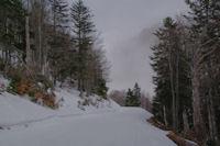 Juste avant le Col de Bazes