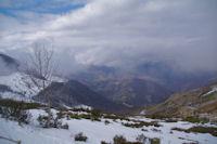 La vallee d'Arbeost depuis le Col de Bazes