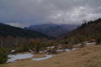 Le vallon du Riutou depuis le Col de Couret