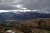 Le Val d'Azun depuis le Col de Couret