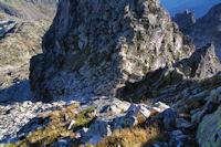 Le versant Nord du Courouaou