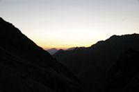 Le soleil se leve sur le Pic de Cabaliros