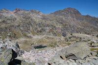Le Milhas, le Pic des Tourettes et le Pic Arrouy