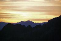 Le soleil se leve sur le Pic du Midi de Bigorre