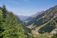 La vallee du Gave d'Arrens