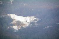 Les grandes de Curedus au pied du Pic du Midi d'Arrens depuis la route du Tech a Arrens