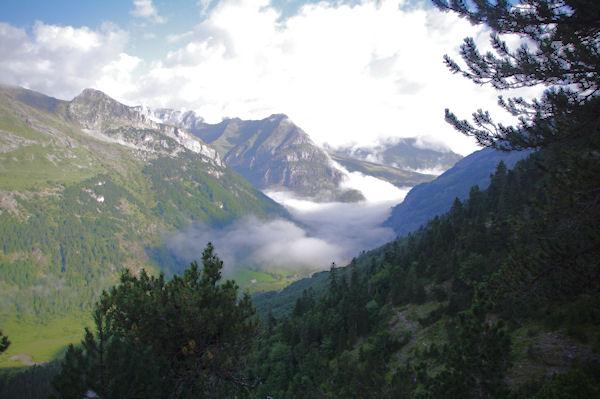 La vallée de Gavarnie depuis le Bois d_Arribama