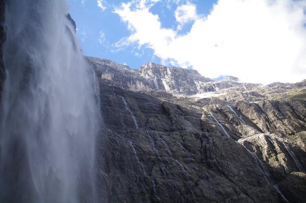La Grande Cascade, la Tour et le Casque du Marboré