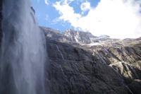 La Grande Cascade, la Tour et le Casque du Marbore