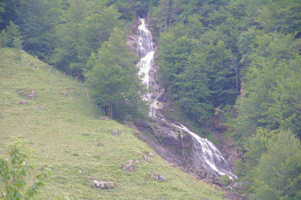 Les cascades du ruisseau de Pailla