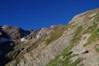 Au fond, le Pic d'Estaragne