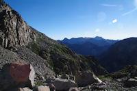 Au dessus du vallon d'Estaragne