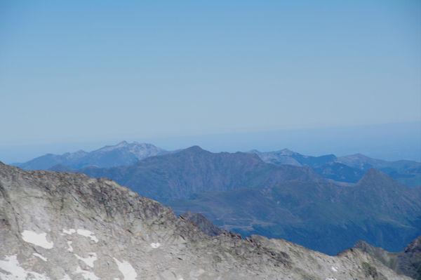 Les Gabizos, le Pic de Cabaliros, le Pic de Bazès et le Pic de Pibeste