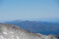 Les Gabizos, le Pic de Cabaliros, le Pic de Bazes et le Pic de Pibeste