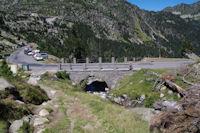 Le depart du vallon d'Estaragne