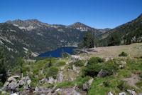 Le lac d'Oredon