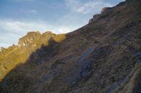 Un petit vallon raide sous le Pic d'Arrouy