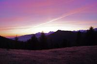 Lever de soleil au Col de Spandelles