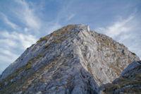 La derniere montee un peu raide du Pic d'Estibete
