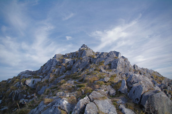 Le sommet du Pic d_Estibète