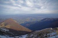 La plaine de Pau depuis le Pic d'Estibete
