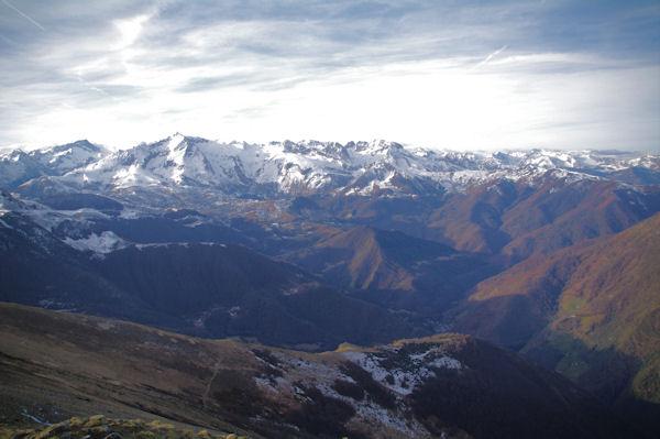 Panorama Sud Ouest du Pic d_Estibète