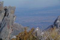 La plaine de Pau depuis la crete entre le Soum d'Arrouy et le Soum de Granquet