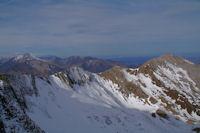La crete entre le Soum de Granquet et le Pic d'Estibete