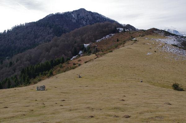 Le Pic de Navaillo depuis le Col d_Ansan