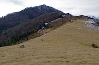 Le Pic de Navaillo depuis le Col d'Ansan