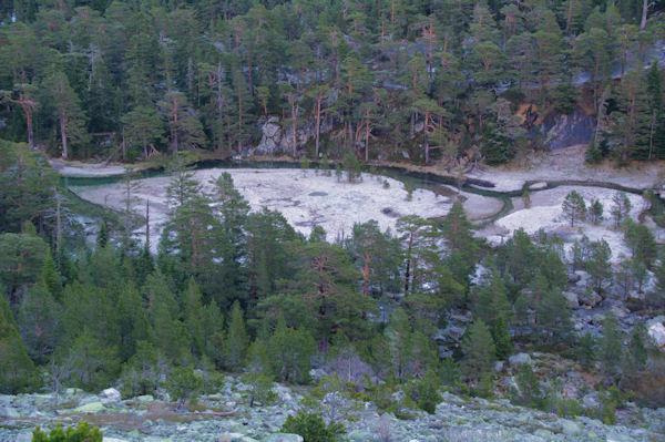 Le Gave de Gaube au dessus du Lac des Huats
