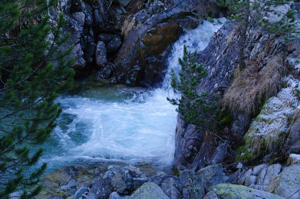 Cascade sur le Gave de Gaube
