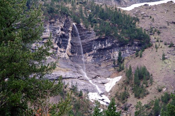 Jolie cascade à Bosquet Long