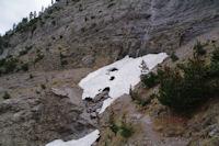 Le neve a la Hount Blanque