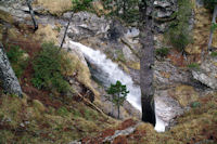 Cascade sur le ruisseau de Pailla