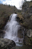 Cascade sur le ruisseau d'Alans