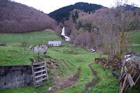 Le ruisseau d'Alans devalant du Bois de  Pailla