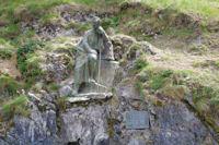La staue deu Comte Henri Russel, le maitre de tous Pyreneiste qui se respecte
