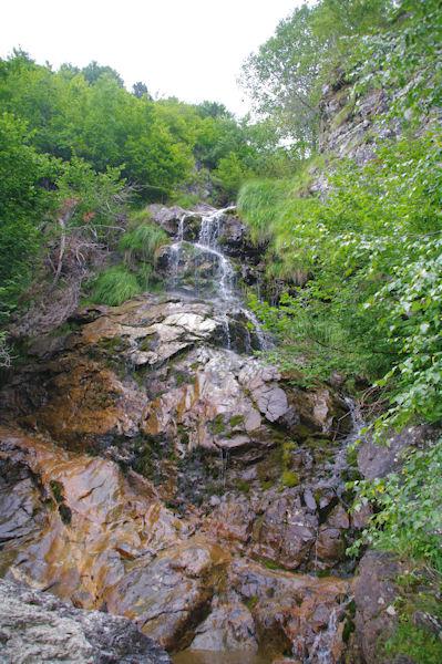 Cascades sur le ruisseau d_Alans
