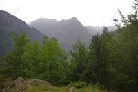 Le Soum des Canaus au dessus de Gavarnie depuis le Bois de Pailla