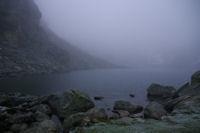 Le lac de la Glere dans la brume