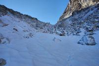 Un neve en remontant vers la Breche du Barbat
