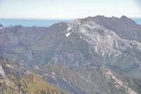 Sanctus, Pic de Louesque et Gabizos depuis le Grand Barbat